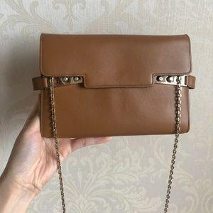 Tempête Leather Clutch